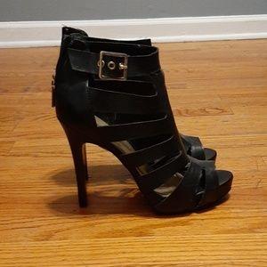 """Guess 4"""" Black Heels"""